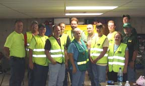 Group Shot of Volunteer CERT Trainers