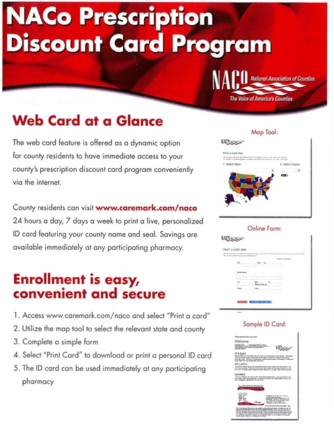 NACO Prescription Card Program